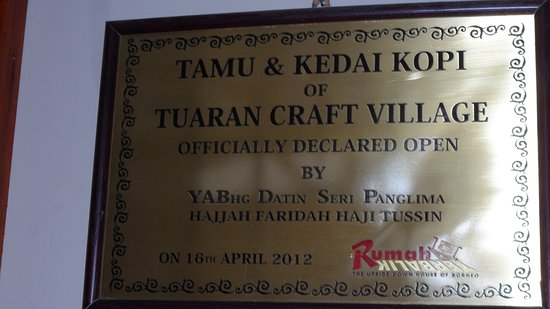 Tamparuli, Malaysia: Offically declared open