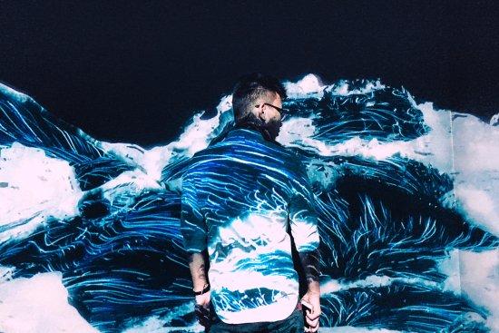 ArtScience Museum at Marina Bay Sands: Nature: Black Waves
