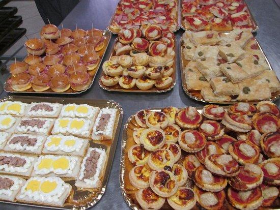 Flero, Italia: rinfreschi salati