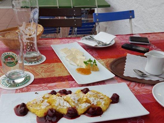 Kranzberg, Alemania: Griesschmarrn und Camembert