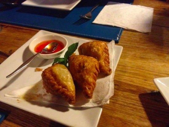 Yackandandah, Australia: Curry puffs