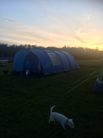 Landford, UK: Awesome campsite