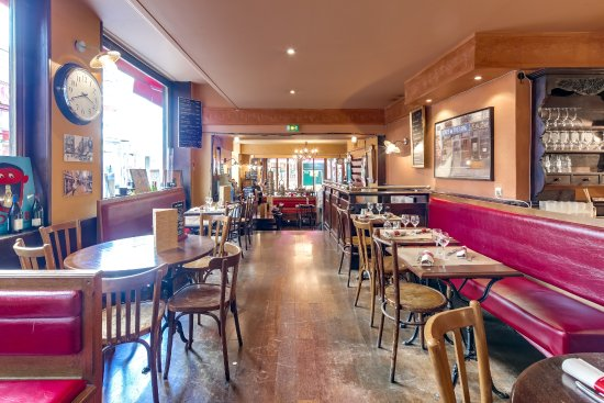 salle du restaurant - Photo de Le Mouffetard, Paris - TripAdvisor