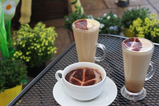 Swanley, UK: Hot drinks