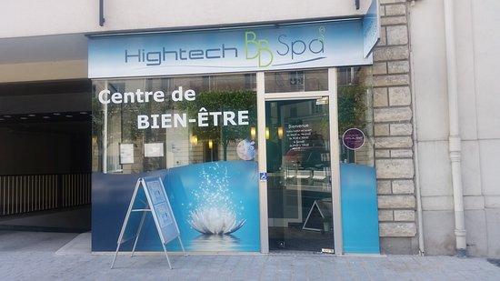 Bourg-la-Reine, צרפת: Hightech BB Spa - Spa des sens 