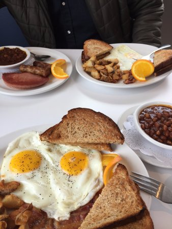 Classic Breakfast x 2 - Picture of Mary Brown's Diner, St ...