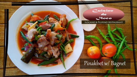 Cuisine de Iloco: Pinakbet