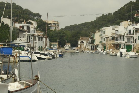 Cala Figuera, Espagne : Village view