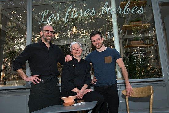 Saint-Cloud, France: La fine équipe