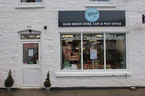 Ruan Minor, UK: New look exterior