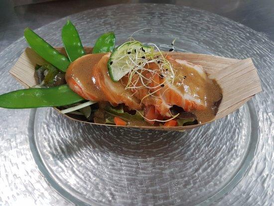 Quincampoix, Fransa: salade de langouste