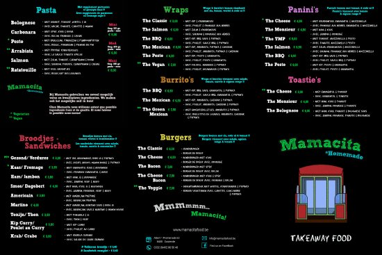 Mamacita: The Leaflet