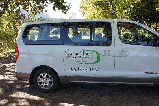 Camino Wine Tours: Our bus!