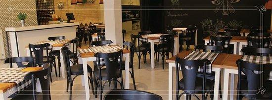 Kingswear, UK: Belle Bistrô um lugar lindo e aconchegante, perfeito para um almoço com a família e amigos, refe