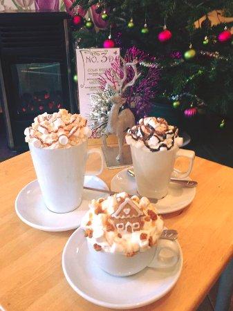 The Wild Flour: Winter Hot Chocolates
