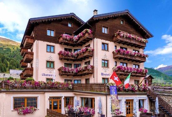 L\'Hotel Astoria di Livigno in estate - Foto di Hotel Astoria ...