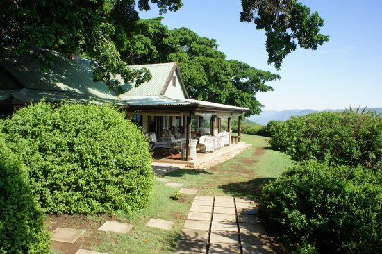 Addo, South Africa: Dining and verandah