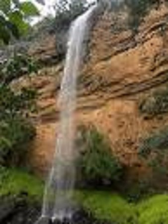 Sabie, Afrika Selatan: Lone Creek falls