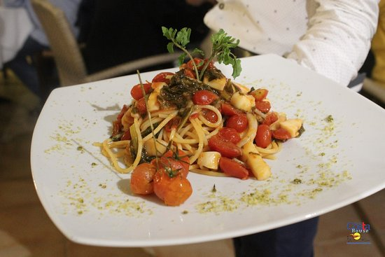Ristorante Costa House: primi piatti dello chef Rosaria Di Maggio
