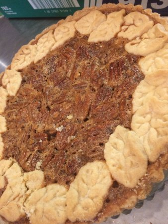 Strathroy, Canadá: Pecan Short Bread Pie from Pastry Chef Kate Regan