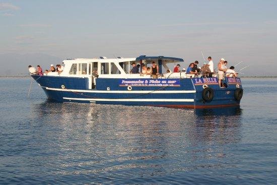 Saint-Cyprien, France : Pêche en mer à bord de La Belle Aude
