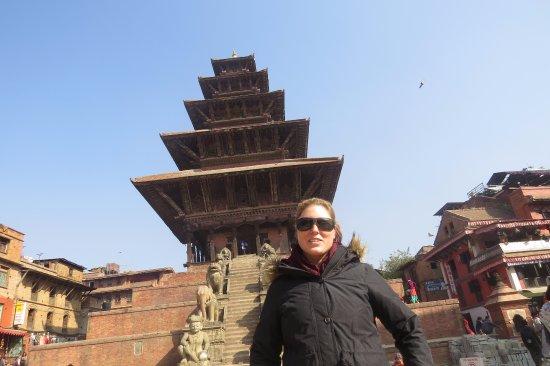 Kathmandu Valley, Νεπάλ: NyataPola Square, Bhaktapur