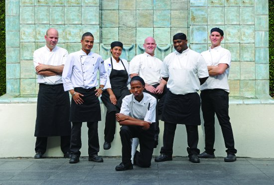 Claremont, Sudáfrica: Square Restaurant team
