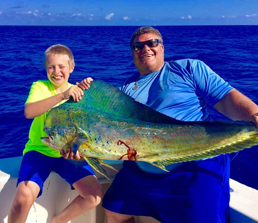 George Town, Grand Cayman: Deep sea fishing at its best