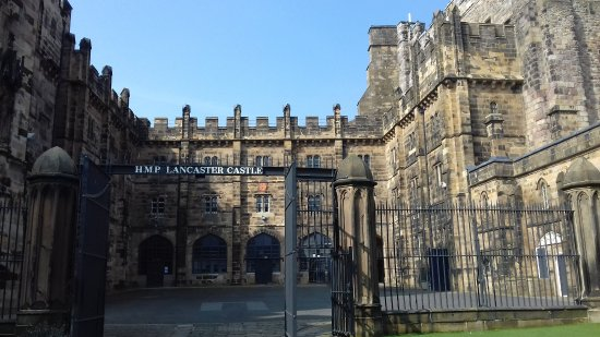 Lancaster, UK : The castle court yard