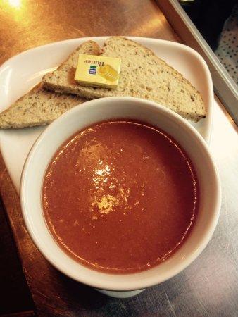 Dalbeattie, UK: Homemade soup