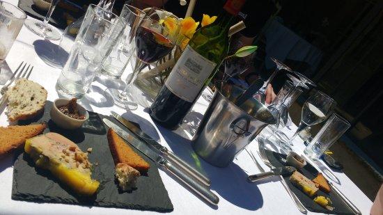 Nans-les-Pins, Frankrike: Foie gras au whiky 16 ans d'age