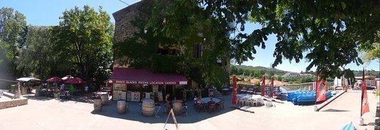 Guinguette du moulin saint martin d 39 ardeche restaurant - Office du tourisme st martin d ardeche ...