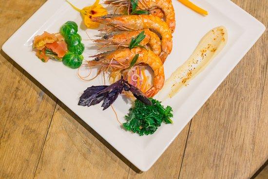 Crevettes De Madagascar Picture Of Restaurant Fleur De Neige