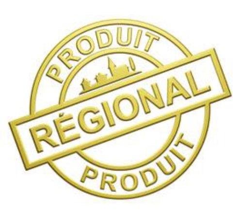 Bernin, France: Nos produits sont régionaux !!