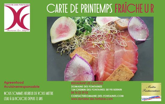 Bernin, France: Carte de Printemps !