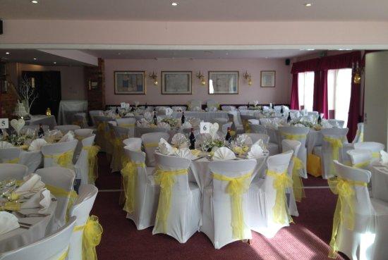 Winslow, UK: Wedding reception
