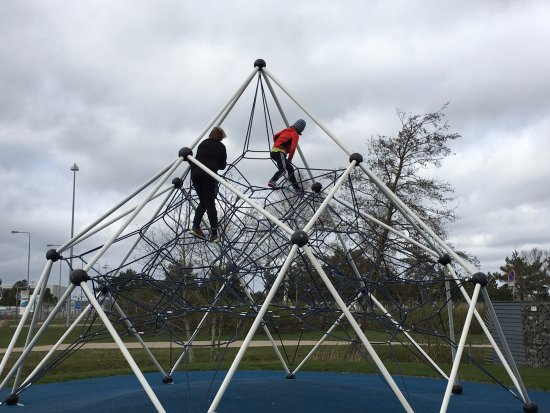 Jelling, Dinamarca: The outside play area