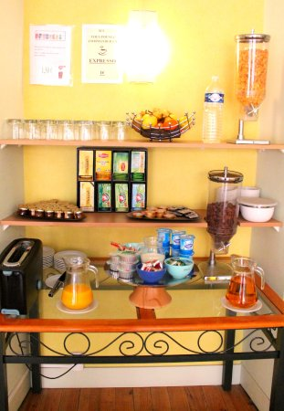 Hotel Adour: buffet petit déjeuner