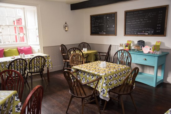 Coxwold, UK: Our fresh and contemporary coffee shop and tearoom