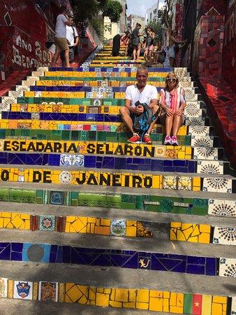 Rio Free Walking Tour: Escalera de Selarón