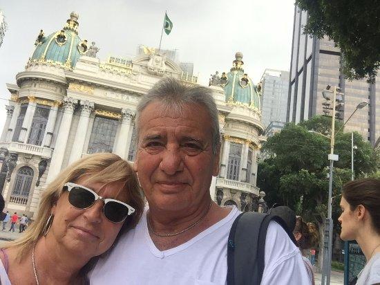 Rio Free Walking Tour: Teatro Municipal