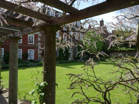 Salisbury, UK: Im Garten