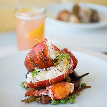 Tides Beach Club Hotel Restaurant : Lobster at The Tides Beach Club