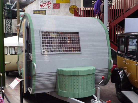 Beaulieu, UK: A Lego built caravan very impressive