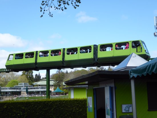 Beaulieu, UK: Mono rail great fun