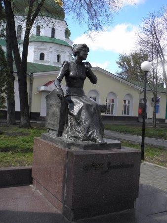 Mariya Zankovetska Monument