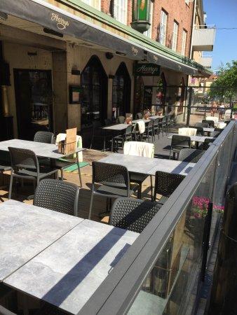 Varnamo, Suède : Uteservering