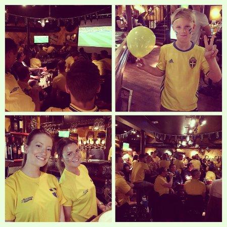 Varnamo, Suède : Fotbolls-EM