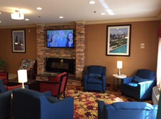 Comfort Inn North: Lobby