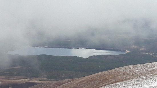 Aviemore, UK: View from top of Cairngorm mountain